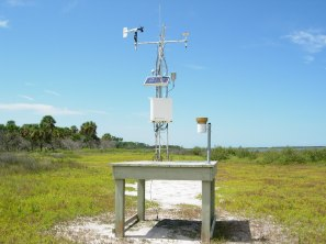 GTM NERR Weather Station located in Princess Place Preserve in Flagler County, Florida