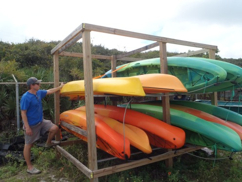 Can't forget the kayaks! Make sure your vessels are secured!