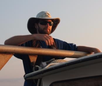 Ethan Bourque, SWMP Technician at ANERR