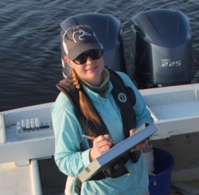 Dr. Rebecca Domangue, as the Research Coordinator at ANERR