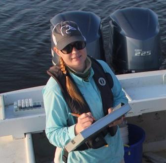 Dr. Rebecca Domangue, Research Coordinator at ANERR