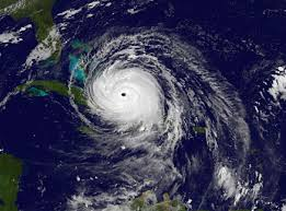Irma satellite image