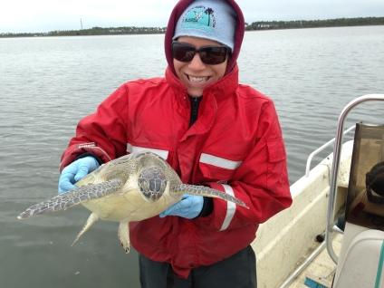 Megan Lamb, Environmental Scientist II at ANERR